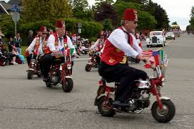 bikes in parades