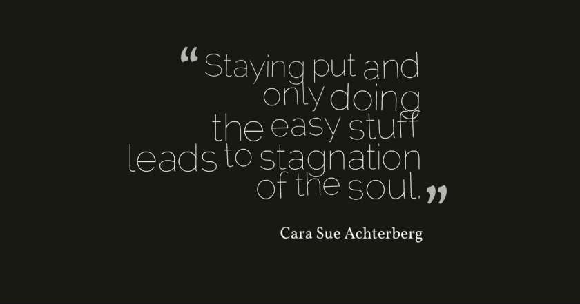 stagnation of the soul