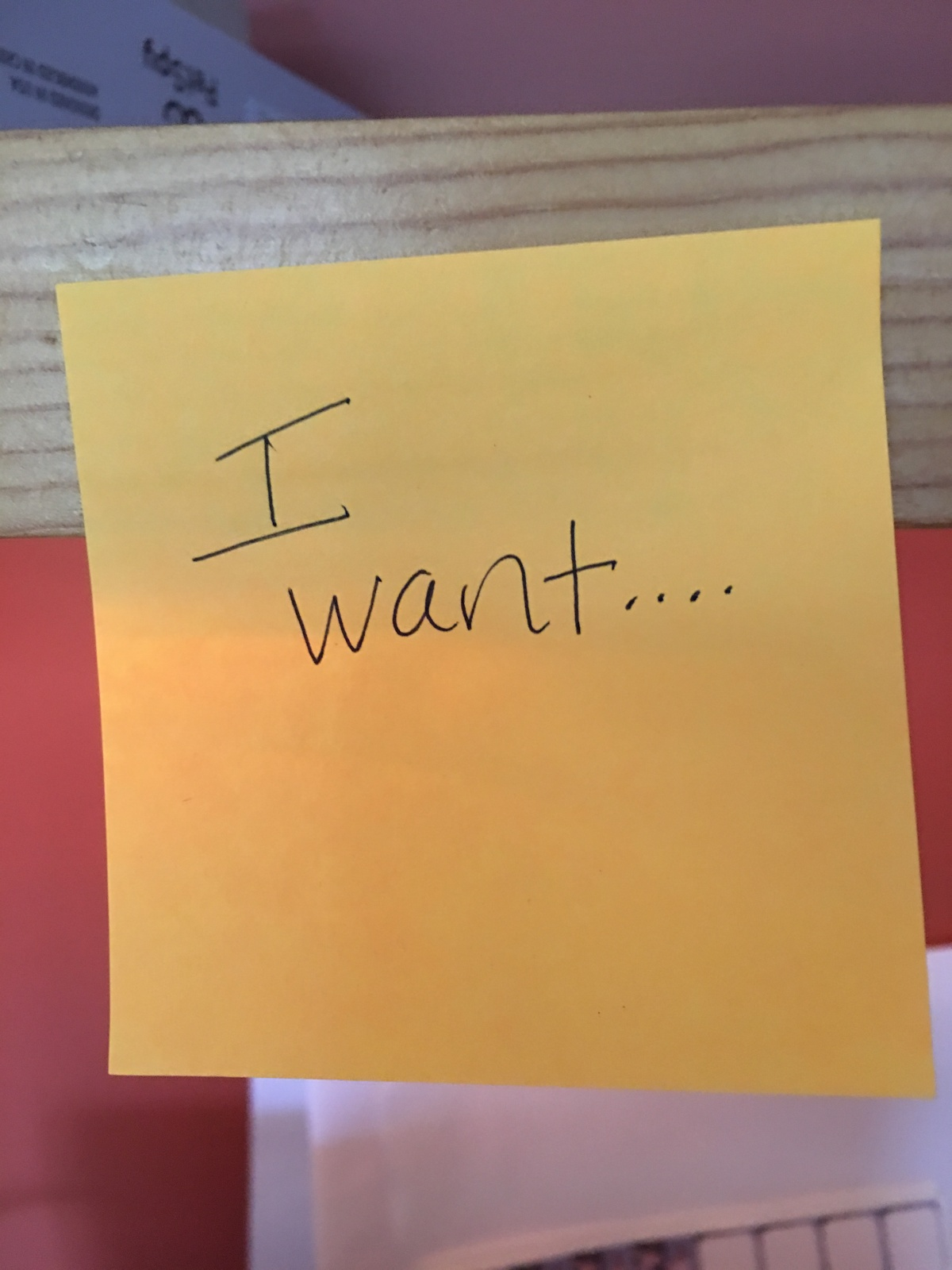What Do You Want? How Post-its Can Help Start the New Story of Your Life